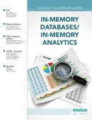 DBTA Thought Leadership Series: In-Memory Databases/In-Memory Analytics