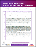 4 Reasons to Diminish the Bureaucracy Around Data Discovery