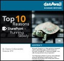 Top 10 Reasons SharePoint is Running Slowly