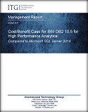ITG analyst report - Value of Database Resilience - Comparing Costs of Downtime for IBM DB2 10.5 and Microsoft SQL Server 2014