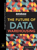 DBTA Best Practices: The Future of Data Warehousing: 2015