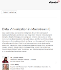 Data Virtualization in Mainstream BI