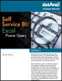 Self-Service BI: Excel Power Query