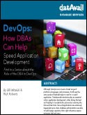 DevOps: How DBAs can help Speed Application Development