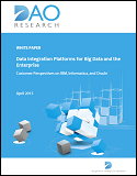 Data Integration Platforms for Big Data and the Enterprise - Customer Perspectives on IBM, Informatica and Oracle
