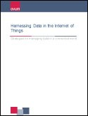 Harnessing Data in the Internet of Things