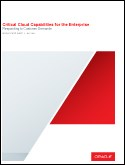 Critical Cloud Capabilities for the Enterprise