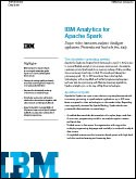 IBM Analytics for Apache Spark