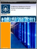 White paper: In-Memory Databases Put the Action in Actionable Insights