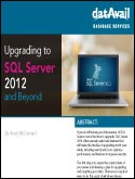 Upgrading to SQL Server 2012 and Beyond