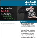 Leveraging MySQL Features for Availability & Scalability