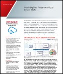 Oracle Big Data Preparation Cloud Service (BDP)