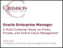 A Multi-Customer Study on Public, Private and Hybrid Cloud Management