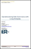 Operationalizing Data Governance with Living Metadata