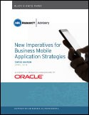 New Imperatives for Business Mobile Application Strategies