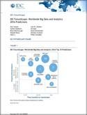 IDC FutureScape: Worldwide Big Data and Analytics 2016 Predictions