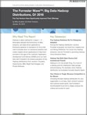 The Forrester Wave™: Big Data Hadoop Distributions, Q1 2016