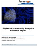 Ponemon Report: Big Data Cybersecurity Analytics