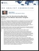 Expert Tips for Accelerating Big Data Analytics and Better Business Insights