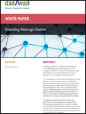 Extending WebLogic Domain