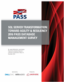 SQL Server Transformation: Toward Agility & Resiliency