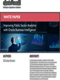 Improving Public Sector Analytics with Oracle Business Intelligence