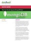 Why You Should Upgrade MongoDB Now