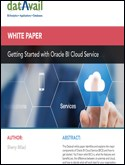 Getting Started with Oracle BI Cloud Service