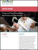 Process and Project Documentation Best Practices and Case Histories