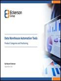 Data Warehouse Automation Tools