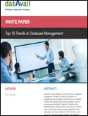 Top 10 Trends in Database Management