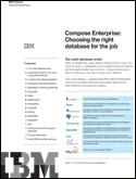 Compose Enterprise: How to Choose the Right DB for the Job