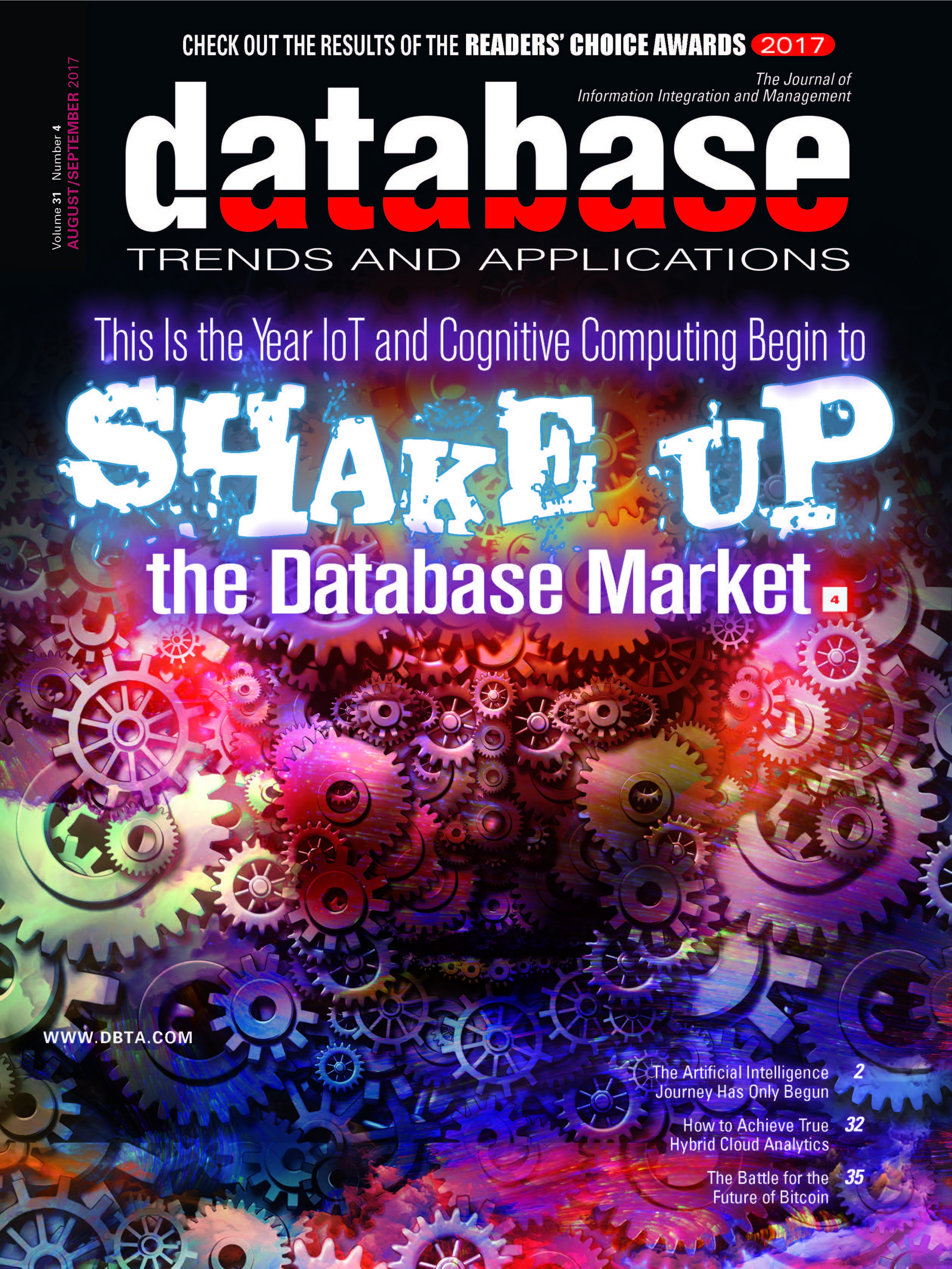 Database Trends and Applications Magazine: Aug/Sept 2017