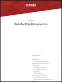 Real-Time Analytics with Redis Enterprise