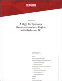 Redis Enterprise as an Ultrafast Recommendations Engine