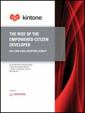 THE RISE OF THE EMPOWERED CITIZEN DEVELOPER