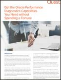 Get the Oracle Performance Diagnostics Capabilities You Need without Spending a Fortune