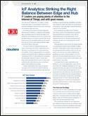 IDG Research: IoT Analytics - Striking the Right Balance Between Edge and Hub