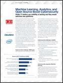 IDG Research: Machine Learning, Analytics, and Open Source Boost Cybersecurity