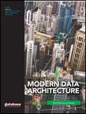 MOVING TO A MODERN DATA ARCHITECTURE
