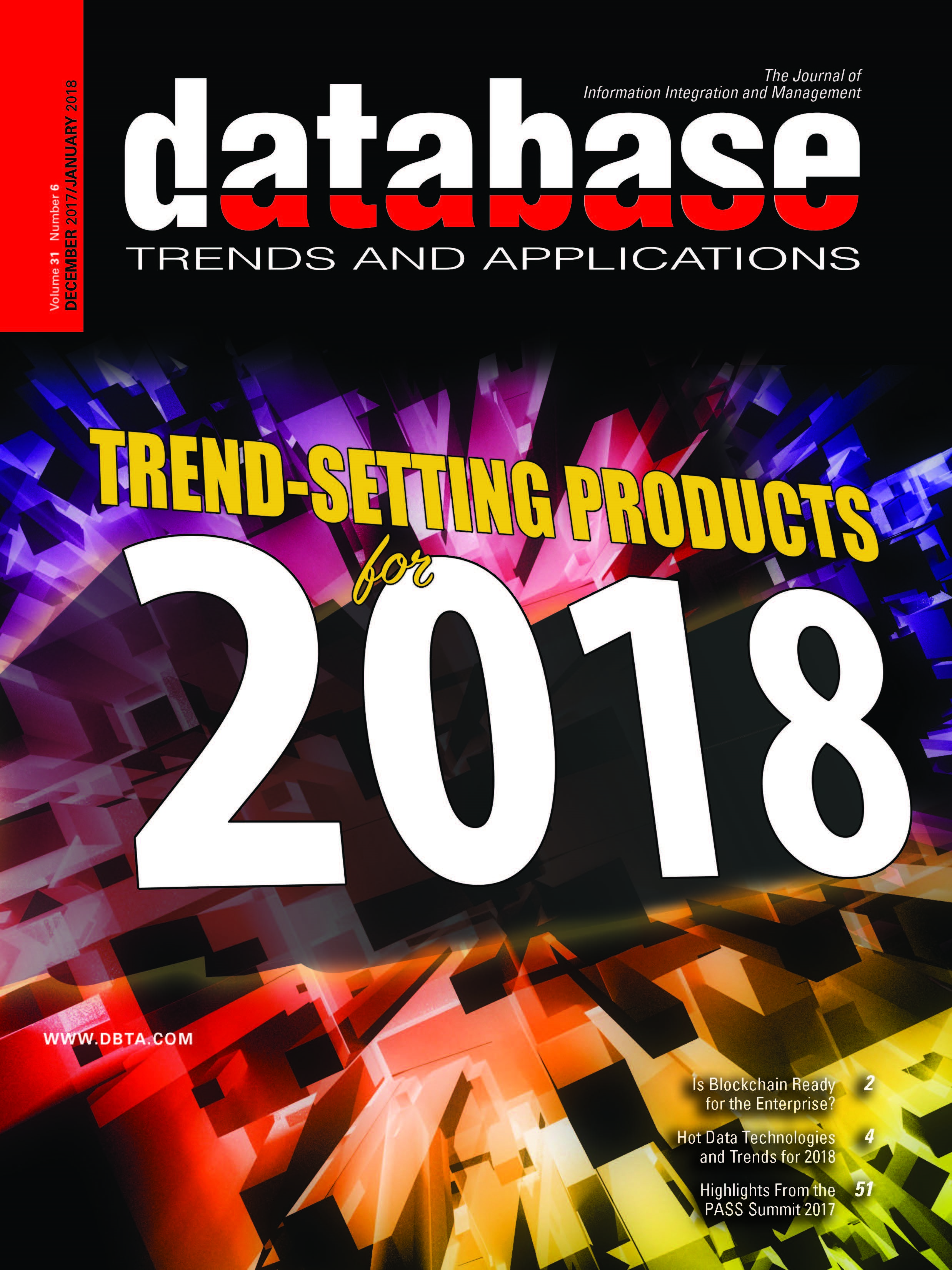Database Trends and Applications Magazine: Dec 2017/Jan 2018 Issue