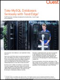Take MySQL Databases Seriously with Toad Edge