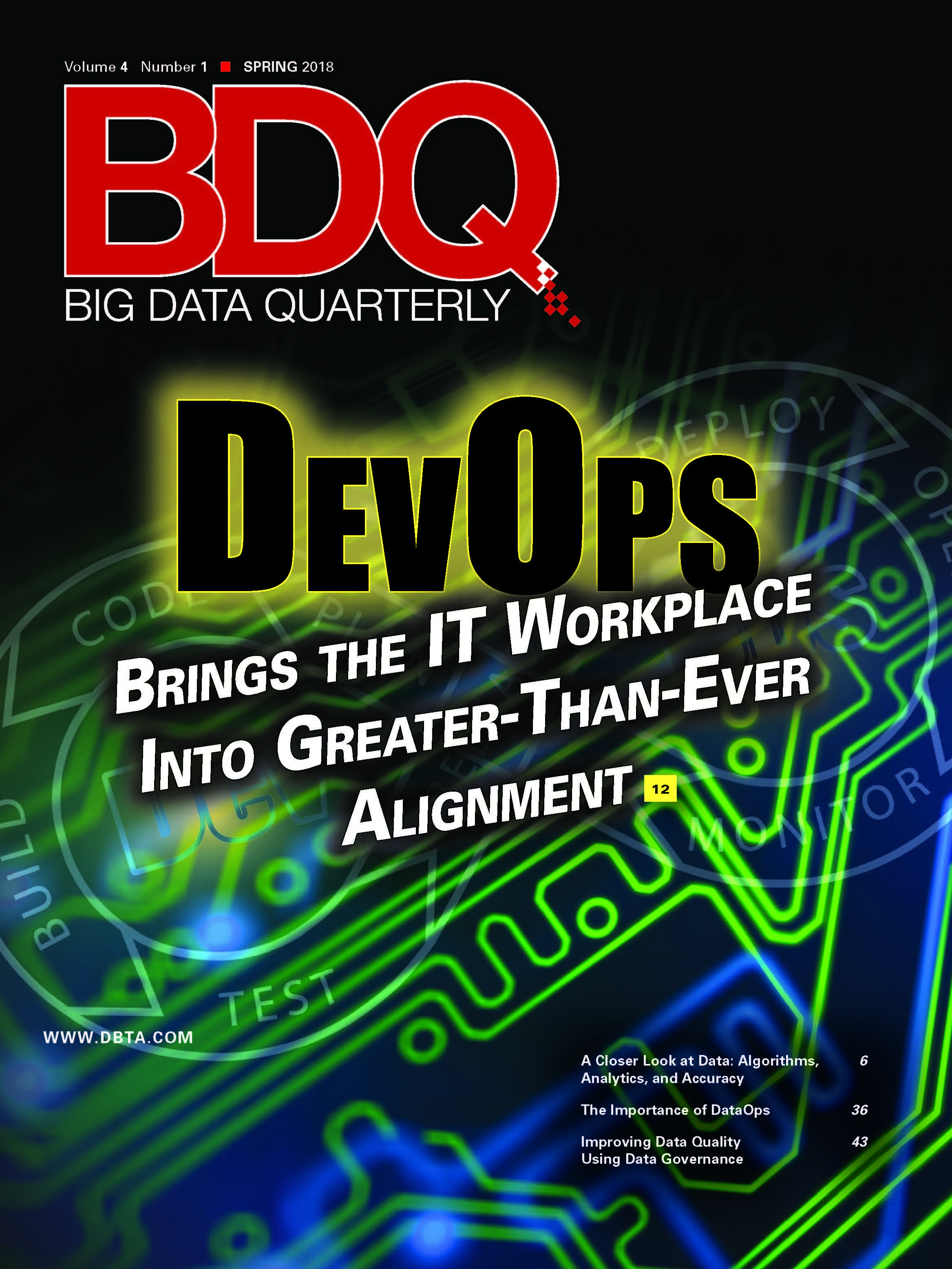 Big Data Quarterly: Spring 2018 Issue