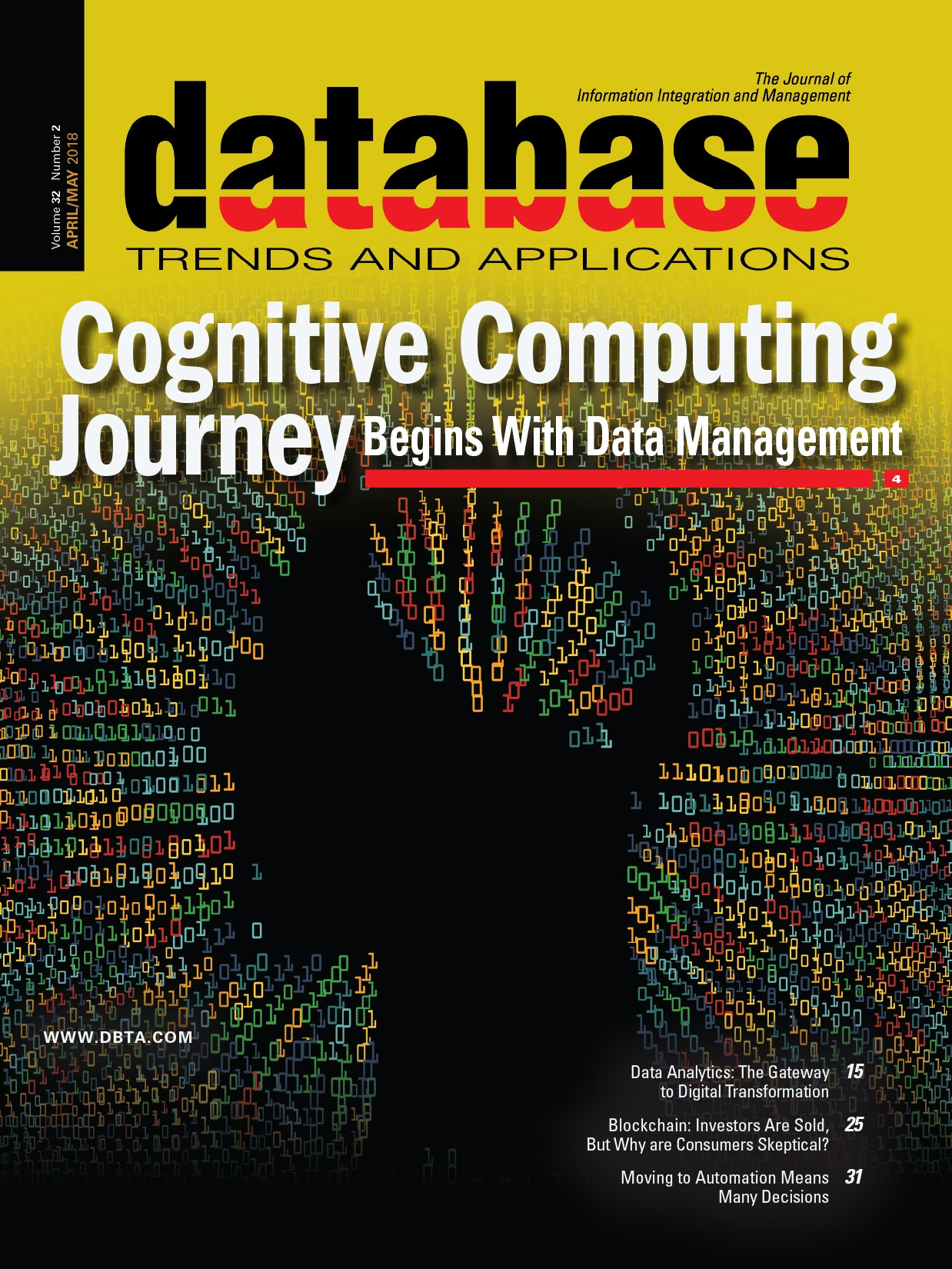 Database Trends and Applications Magazine: April/May 2018 Issue