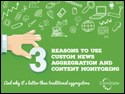 3 Reasons To Use Custom News Aggregation And Content Monitoring