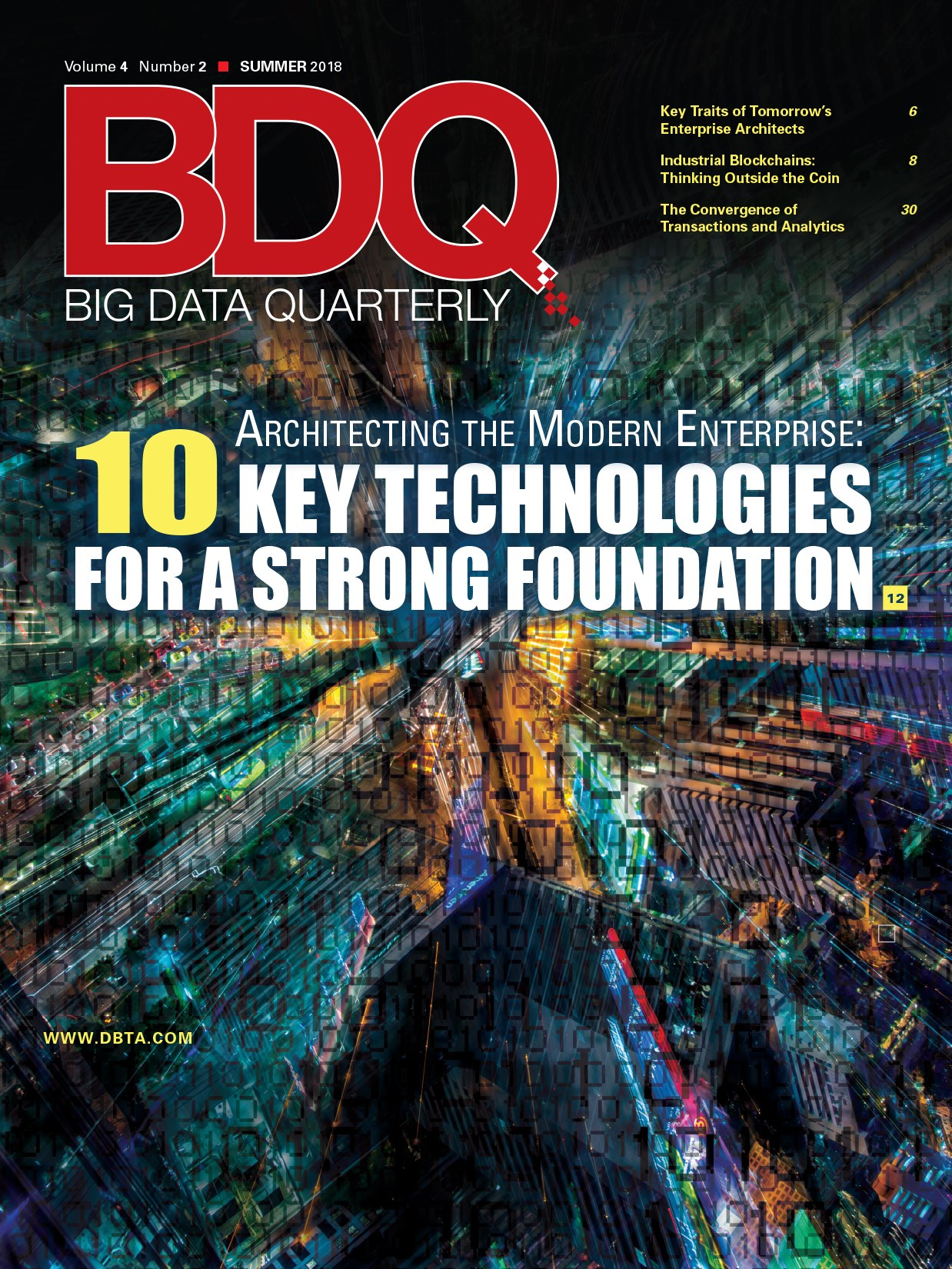 Big Data Quarterly: Summer 2018 Issue