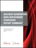 2018 NEXT-GENERATION DATA DEPLOYMENT STRATEGIES REPORT SUMMARY