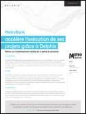 Metro Bank: accélère l'exécution de ses projets grâce à Delphix