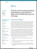 All-Flash with Pure Storage Enabling Organizations to Generate More Value with SAP While Reducing Cost of Storage