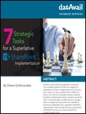 7 Strategic Tasks for a Superlative SharePoint Implementation